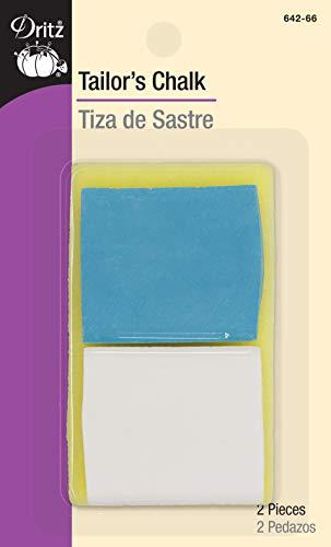 Dritz Tailor's Chalk, Blue, White