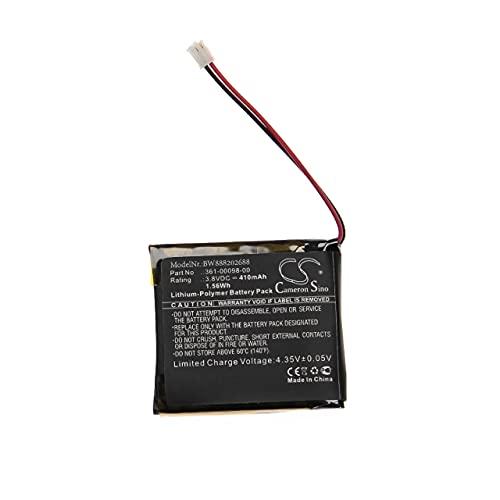 vhbw Batería Recargable Compatible con Garmin Fenix 5S Plus, 5X, 5X Running smartwatch, Reloj de Actividad (410 mAh, 3,8 V, polímero de Litio)