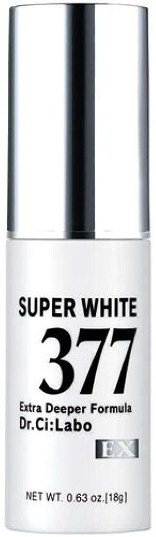 以上マウントバンク慣れるドクターシーラボ スーパーホワイト377EX 18g