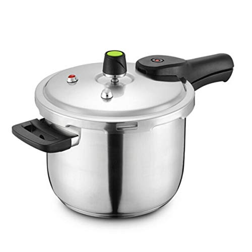 Xiaoxian Pressure Cooker, 22CM, Stainless Steel Pressure Cooker, Gas - Induction Cooker - Universal, Best Choice For Kitchenware Steamed out food (Size : 22cm)