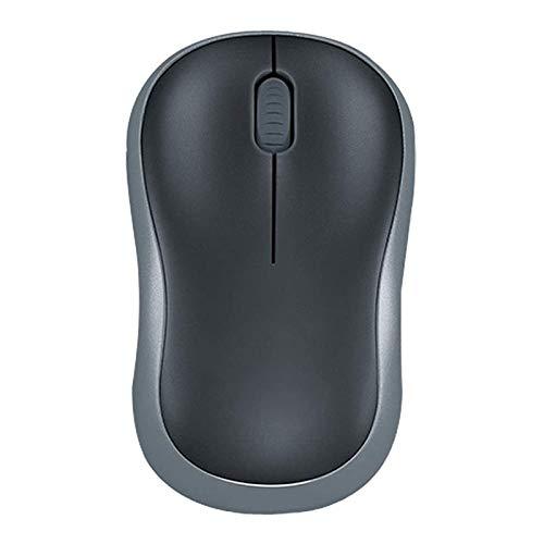STBAAS Mouse inalámbrico, Wireless Home Office precisión de alimentación de la Rueda de Ahorro de Ratón Ratón Negro