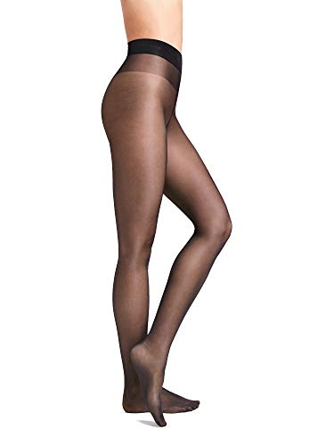 Wolford Damen Strumpfhosen Satin Touch 20 Comfort Tights, 20 DEN,nearly black,X-Large (XL)