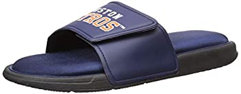 MLB Houston Astros Mens SMU Big Logo Foam SLIDESMU Big Logo Foam Slide Team Color S