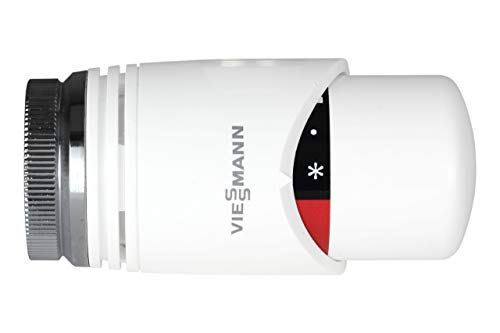 Viessmann Thermostat TRV4 ohne Nullstellung weiss/weiss