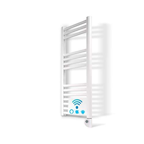 Radiador Toallero Electrico IBIZA Blanco 500W · Termostato Digital · (800 x...