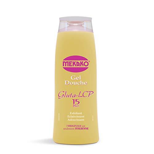 Mekako Gel Douche Gluta Lcp Exfoliant, Eclaircissant, Adoucissant - 420 ml
