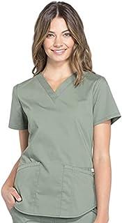 Workwear Professionals Women Scrubs Top V-Neck WW665