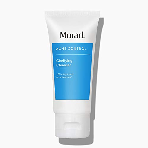Murad Clarifying Cleanser, Gentle Exfoliating Facial Cleanser with Salicylic Acid, 2 Fl Oz