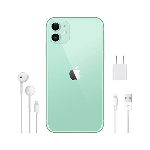 Apple iPhone 11 (64GB) - Grün (inklusive EarPods, Power Adapter)