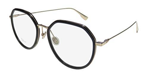 Dior StellaireO9 Brille mit schwarzen und klaren Gläsern