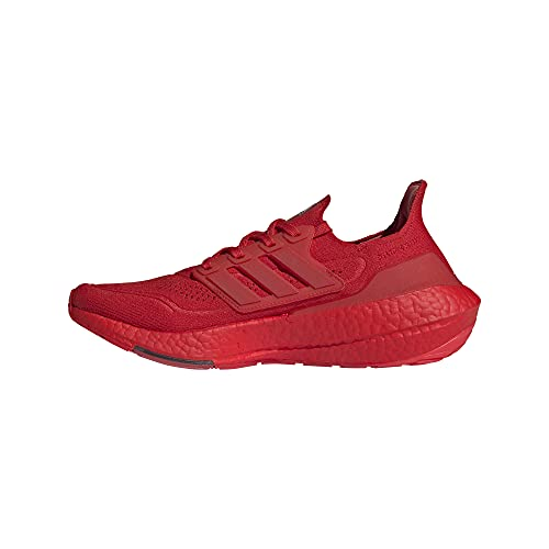 adidas Mens Ultraboost 21 Vivid Red/Vivid Red/Black 10
