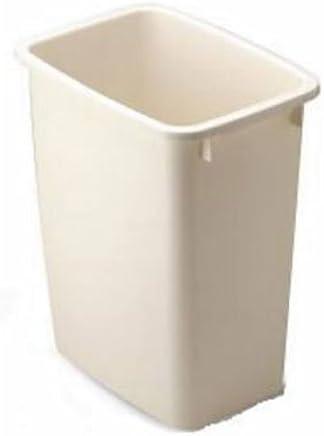 Rubbermaid 乐柏美 广口矩形垃圾桶19L藕荷色 2805