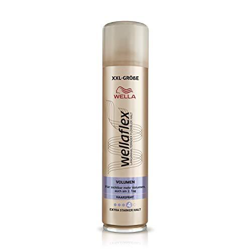 Wellaflex Haarspray Volumen extra starker Halt, 6er Pack (6 x 400 ml)