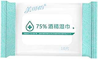 FISHERFANS 除菌ウェットティッシュ アルコールタイプ 10枚×10個セット