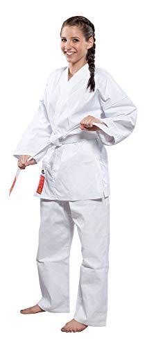 Hayashi Heian Officiel Wkf Kimono karaté Mixte Adulte, Blanc