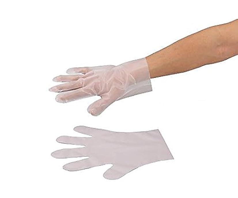 申請中ドーム作家アズワン9-889-02ラボランサニメント手袋(PE?厚手タイプ)エンボス付M10箱+1箱