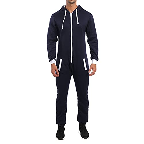 MTENG Mens Tracksuit Stylish Hooded Sports Sets Casual Plain Athletic Comfy Jogging Sweatsuits 2 Piece