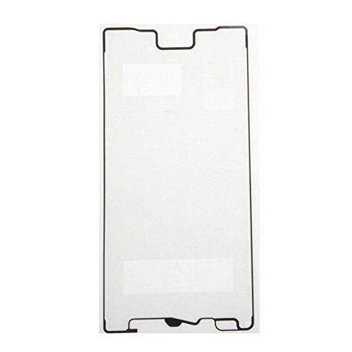 jingtingmy Fijar Las Piezas del teléfono renovar IPartsBuy Frontal de la Carcasa Adhesiva for Sony Xperia Z5 Accesorios