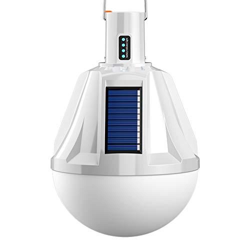 Linterna LED Linternas Eléctricas LED Solar Camping Luz Lámpara Colgante Tienda con...