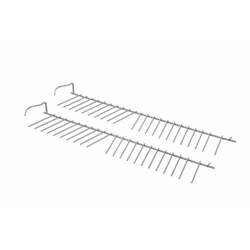 Lote de 2 soportes para platos (230456-11664) para lavavajillas 00357872 Bosch