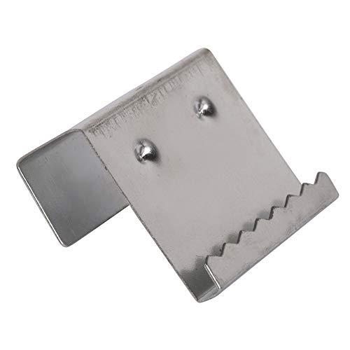 Rayher 6239900 Aufhänger für Keilrahmen, 17 mm, Metall, 2 Stück