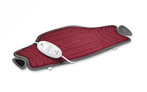 Beurer HK55 - Almohadilla electrónica cervical / lumbar con superficie suave y...