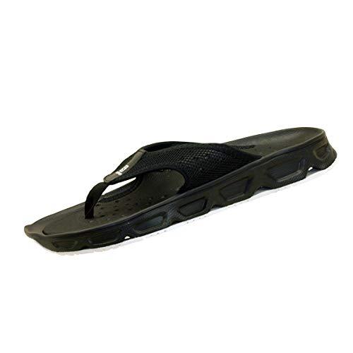 Salomon RX Break 4.0, Calzado de recuperación Hombre, Negro (Black/Black/White), 46 2/3 EU