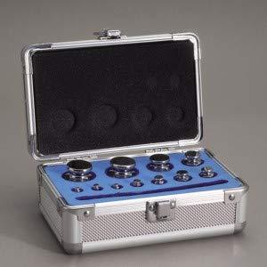 新光電子(大正天びん) アルミ製組分銅ケース 組分銅アルミケース 5KS (2kg〜1mg) AC-5KS
