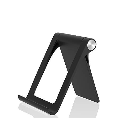 Tekvision Handy Ständer für Phone, Samsung, Huawei, Xiaomi, Schreibtisch, Andere Smartphone (Black)