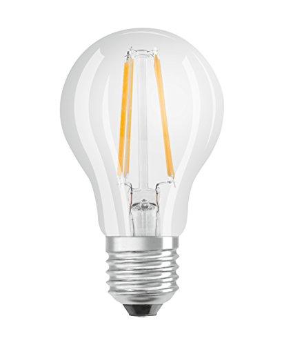 Osram Lampadine LED Goccia, 7W Equivalenti 60W, Attacco E27, Luce Calda 2700K, Confezione da 3