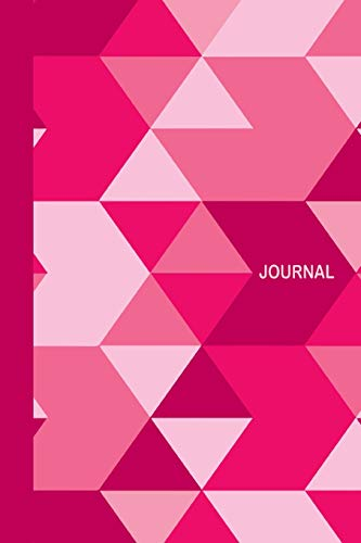 Journal: Pale Pink Geometric Camouflage Camo Diary & Writing Notebook | Daily...