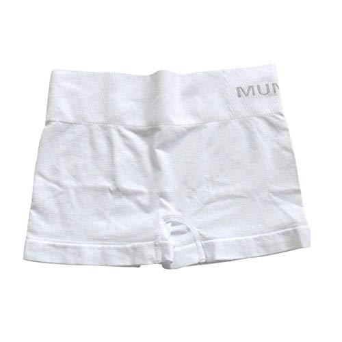 UnterhosenDamen Pantys Damen Hochelastische Nahtlose Frauen Safe Short Pants Strumpfhose Für Frauen Sicherheitshose Unter Shorts Frauen Leggin Shorts Style OneSize White