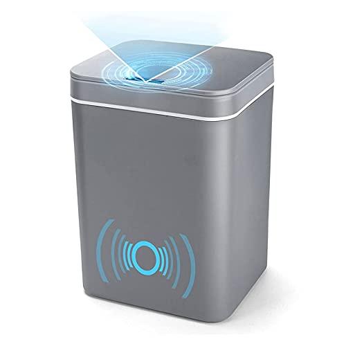 Inductive Trash Can, BENBOR 14 Liter/3.7 Gallon...