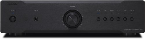 TEAC AI-1000 2.0 Alámbrico Negro - Amplificador de Audio (2.0 Canales, 120...
