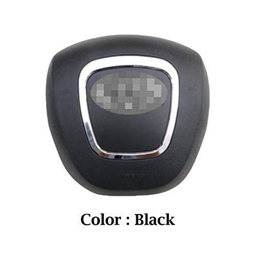 Fangaichen Adecuado para el Coche para Audi A4 A5 Copa DE Cable TUNO Cubierta Cubierta AUTOMÁTICO Auto PLÁSTICO ABS DIRECCIÓN DE LA Cubierta DE LA Cubierta (Color : Black Color)