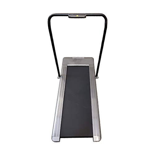 Bliss Brands Electric Folding Treadmill, Fitness Exercise LED Display with Ultra Quiet Motor, Anti-Slip, Anti-Shock, Great for Office & Home (Gray) Cardio Training