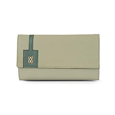 Baggit 3 Fold Wallet (Green)