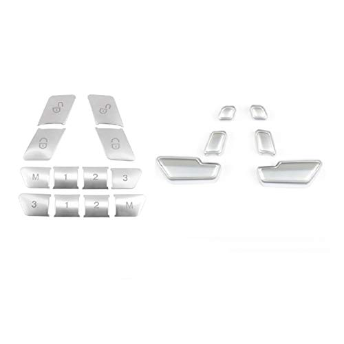 Prospective Sillón de automóvil Ajustado Interruptor Interruptor de la cubierta Desbloqueo de la puerta Interruptor Interruptor de la cubierta Pegatinas Pegatinas Ajuste para Benz C E Clase GLK GLE ML