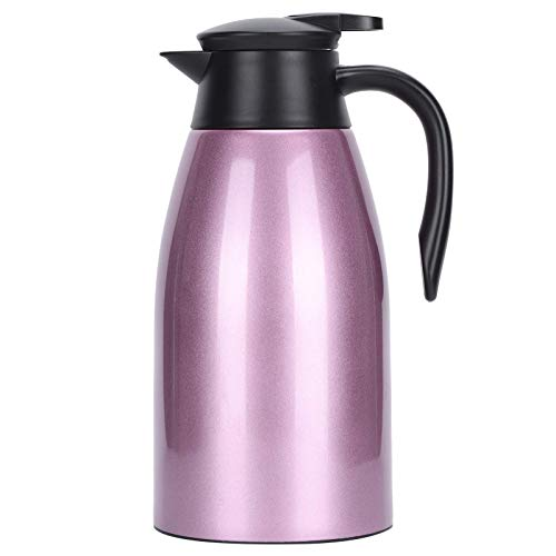 ZHBH Caffe Machineg Olla de Agua Olla de Agua aislada Botella de café térmica de Acero Inoxidable, Oficina en el hogar o Camping al Aire Libre Olla de Agua Grande portátil, para Almacenamiento de