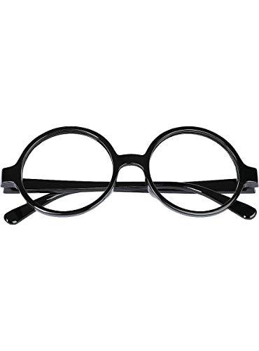 Funidelia   Gafas de Harry Potter Oficial para niño y niña ▶ Películas & Series, Magos, Gryffindor, Hogwarts - Color: Negro, Accesorio para Disfraz - Licencia: 100% Oficial