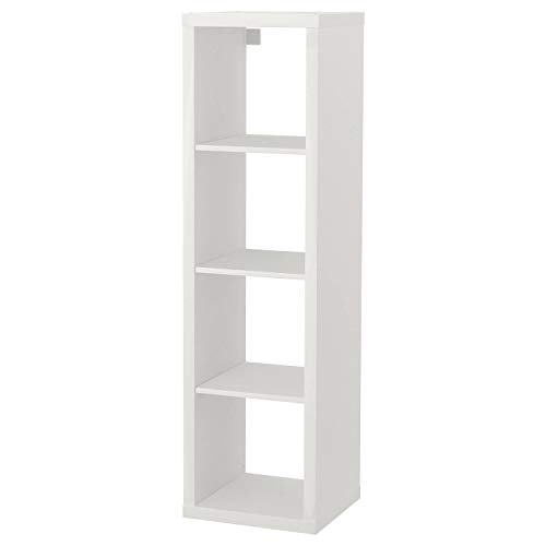 Ikea Kallax Regal, Bücherregal, Wandregal, Raumteiler in weiß (42 x 147 cm)