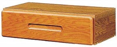 小島工芸 日本製 組立不要 健康仕様のFフォースター 30mmピッチで移動が可能 オプション引き出しアコード用90 ライト[幅40.5cm 高さ12cm] 2340951