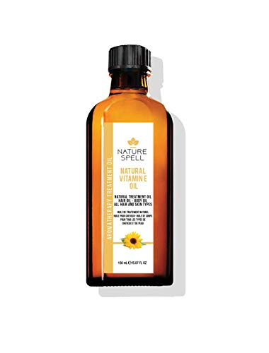 Nature Spell Vitamin E Treatment Oil For Hair and Body, 150 ml N815