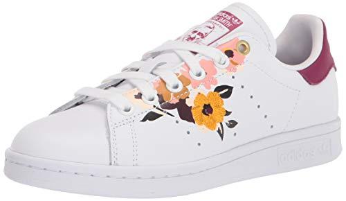 adidas Originals Stan Smith, Zapatillas Deportivas. para Mujer, Color Blanco Power Berry, 42 EU