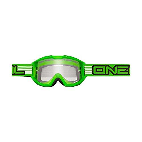 O'Neal B1 RL Goggle FLAT Grün Crossbrille Cross Brille Motocross DH MTB MX Quad, 6023-903