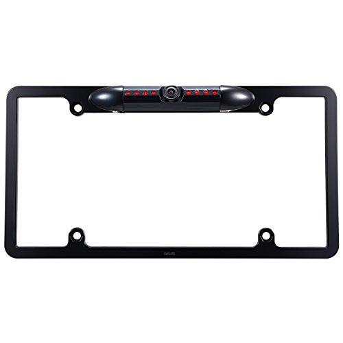 Car License Plate Frame Rearview Backup Camera