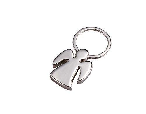 Wedo 2053419 Schlüsselanhänger Celia (aus Zinklegierung, glänzend verchromt, 4 cm) silber