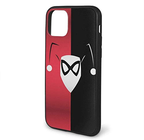 Phone Case Har-Ley Quinn Bat-Man Art Designed for 2021 iPhone 11/iPhone 11 Pro/iPhone 11 Pro MAX TPU Bumper Protective Case Soft Flexible Slim Shockproof Beautiful and Handsome