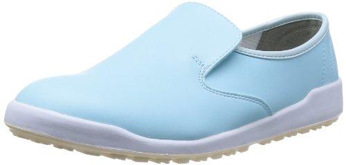 [ミドリ安全] 作業靴 耐滑 スリッポン ハイグリップ H100 C メンズ ブルー 23.0(23cm)