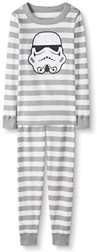 Hanna Andersson Star Wars Kids Organic 2-Piece Long-Sleeve Pajama Set Storm Trooper-100